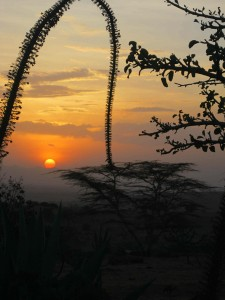 Sunset in Kenya 2012
